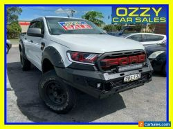 2015 Ford Ranger PX MkII XLS 3.2 (4x4) White Automatic 6sp A Double Cab Pick Up