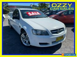 2008 Holden Commodore VE Omega White Automatic 4sp A Utility