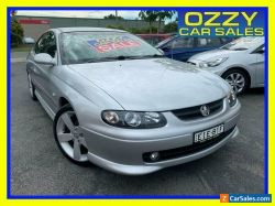 2002 Holden Monaro V2 Series II CV8 Silver Automatic 4sp A Coupe