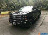 2019 Chevrolet Silverado CK25743 MY19 2500HD LTZ Midnight Edition Black 6sp A
