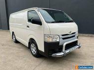 2018 Toyota HiAce KDH201R Van LWB 4dr Auto 4sp, 955kg 3.0DT White Automatic A