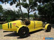 1927 Bugatti 35B Replica Kit Car 1930cc 4 Speed Manual Lots of Receipts!
