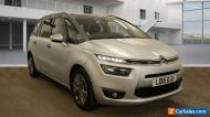 2015 CITROEN GRAND PICASSO 1.6 E-HDI 115 EXCLUSIVE+, 1 F/OWNER, MOT,  PAN ROOF.
