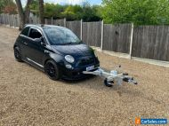 2011 FIAT 500, ABARTH, BLACK, MANUAL, TOW CAR, MUST BE SEEN