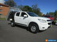 2015 Holden Colorado RG MY15 LS (4x2) White Automatic 6sp A Crew Cab Chassis