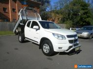 2013 Holden Colorado RG LX (4x4) White Automatic 6sp A Space Cab Chassis
