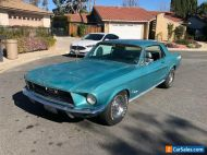 1968,FORD MUSTANG COUPE, J CODE,302 V8,AIR,CON,PWR STR POWER DISCS,1 OF15 MADE ,