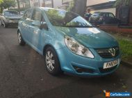 2010 VAUXHALL CORSA  1.4 EXCLUSIVE 5DR