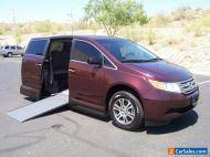 2011 Honda Odyssey EX Wheelchair Handicap Mobility Van