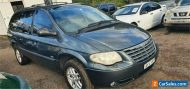 2006 Chrysler Grand Voyager RG Limited Vision Grey Automatic 4sp A Wagon