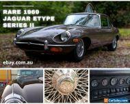 1969 Jaguar Etype Series II rare VIN