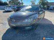 2007 Mazda 3 BK MPS Black Manual 6sp M Hatchback