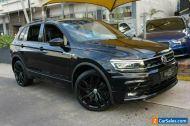 2018 Volkswagen Tiguan 5NA MY19 Wolfsburg Edition Black Automatic 7sp A Wagon