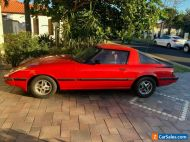 Rare 1983 Mazda RX7 Series 2 Red Manual 5sp Coupe