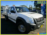 2007 Holden Rodeo RA MY07 LX (4x4) White Manual 5sp M Spacecab