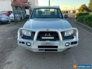 2009 Mazda BT-50 UNY0W4 DX Silver Manual M Cab Chassis