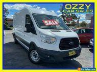 2016 Ford Transit VO MY16 350L LWB Mid Roof White Manual 6sp M Van
