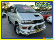 2004 Mitsubishi Delica Exceed (spacegear) Silver Automatic 4sp A Wagon