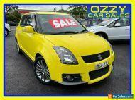 2010 Suzuki Swift EZ 07 Update Sport Yellow Manual 5sp M Hatchback