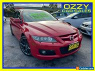 2006 Mazda 6 GG MPS (Leather) Red Manual 6sp M Sedan