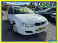 2005 Holden Commodore VZ Executive White Automatic 4sp A Sedan