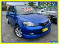 2003 Mazda 2 DY Genki Blue Manual 5sp M Hatchback