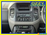 2001 Mitsubishi Pajero NM Exceed LWB (4x4) White Automatic 5sp A Wagon