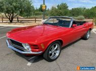 1970 Ford Mustang Convertible 2DR