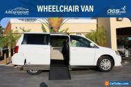 2018 Dodge Grand Caravan SXT VMI Apex Handicap Accessible Ramp Van