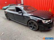 Audi A5 SportBack Black Edition S-Line DAMAGED SALVAGE