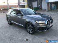 2015 Audi Q7 4M 3.0 TDI Quattro Grafite Grey Automatic 8sp A Wagon