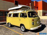 1975 VW Volkswagen CAMPMOBILE Kombi Camper POP TOP # Westfalia toyota POPTOP