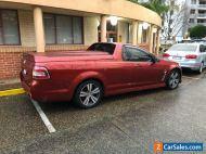 2014 Holden Ute SV6 VF Manual MY14
