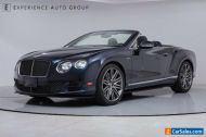 2015 Bentley Continental GT Speed Convertible GTC