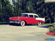 1956 Chevrolet Bel Air/150/210 white and red