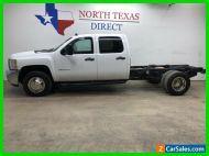 2014 Chevrolet Silverado 3500 Diesel 4x4 Dually Crew Work Truck 6 Passenger