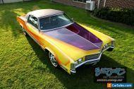 1970 Cadillac Eldorado with Lowrider paint work. Big Block V8, Lincoln. Impala