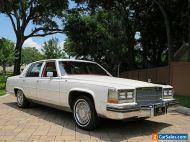 1984 Cadillac Fleetwood 4dr Sedan