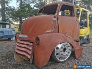 Chevy 1951 COE Cab over Engine 5 window cab Sydney import approved