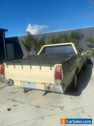 Holden WB Ute with books!