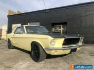 1967 Mustang coupe with Supercharge