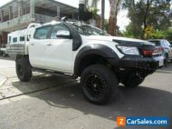 2012 Ford Ranger PX XL 3.2 (4x4) White Automatic 6sp A Double Cab Pick Up