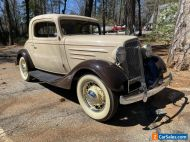 1935 Chevrolet 3 window Coupe Original Classic LHD