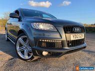 2012 Audi Q7 3.0 TDI 245 S Line PLUS Quattro AUTO SatNav LEATHER Reverse CAMERA