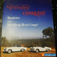 Other Makes: Daimler Century Fixed Head Coupe Conquest