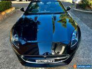 2013 Jaguar F-Type V6 3.0L Supercharged Intercooled. 39,000kms Auto & Convert