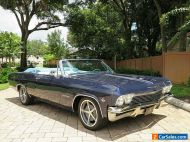 1965 Chevrolet Impala SS Convertible 74,562 Actual Miles Fully Restored