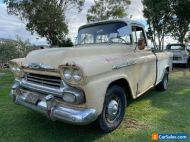 1958 Chevrolet Cameo Hotrod Pickup Truck Project