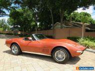 1970 Chevrolet Corvette Convertible Numbers Matching 350ci Power Brakes