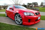 2008 Holden Commodore VE SS. low km,sunroof,immac,red on red. hsv,gts,ssv,r8,v8